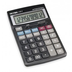 Victor - 1180-3A - Finance Desktop Calculator, LCD, 12 Digits