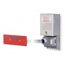 Alarm Lock - 11A - Exit Door Alarm, Horn, 95dB, Chrome