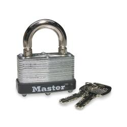 Master Lock - 500KABRK-229 - Padlock Breakaway Keyed Alike 13/16 In Hx13/16 In Wx9/32 In Dia Steel Master Lock Co., Ea