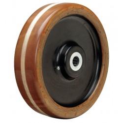 Hamilton Caster - W-1230-LP-1 - 12 Caster Wheel, 4400 lb. Load Rating, Wheel Width 3, Phenolic, Fits Axle Dia. 1