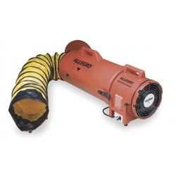 Allegro - 9536-15 - Axial Confined Space Fan, 1/4 HP, 12VDC Voltage, 4200 rpm Blower/Fan Speed
