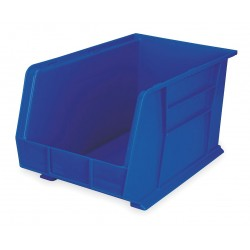 "Akro-Mils / Myers Industries - 30260BLUE - Hang and Stack Bin, Blue, 18"" Outside Length, 11"" Outside Width, 10"" Outside Height"