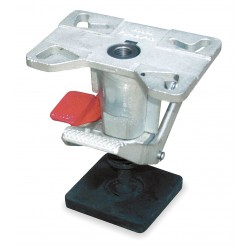 Other - FL-ADJ-810 - Adjustable Floor Lock, Top Plate, 11-1/2in
