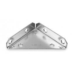 Other - 1WDD2 - 3 x 3 Steel Heavy Duty Corner Brace with Zinc Finish