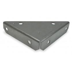 Other - 1WDD3 - 4 x 4 Steel Heavy Duty Corner Brace with Zinc Finish
