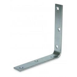 Other - 1WDD8 - 10 x 1-1/4 Steel Corner Brace with Zinc Finish