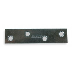 Other - 1WDG3 - 3 x 3/4 Steel Mending Plate with Zinc Finish