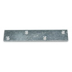 Other - 1WDG4 - 5 x 1 Steel Mending Plate with Zinc Finish