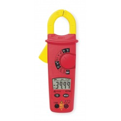 Amprobe - AC75B - Clamp On Digital Clamp Meter, 0 to 1000F Temp. Range, 1-21/64 Jaw Capacity, CAT III 600V