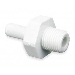 John Guest - CI051223W-PK10 - Acetal Copolymer Stem Adapter