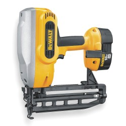 "Dewalt - DC616K - Cordless Finish Nailer Kit, Voltage 18.0 NiCd, Battery Included, Fastener Range 1-1/4"" to 2-1/2"""
