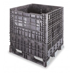 Buckhorn / Myers Industries - BS3230342010000 - Collapsible Bulk Container, Black, 34H x 32L x 30W, 1EA