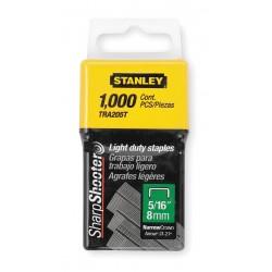 "Stanley / Black & Decker - TRA204T - 1/4"" Narrow Light Duty Staples (1000/pkg)"