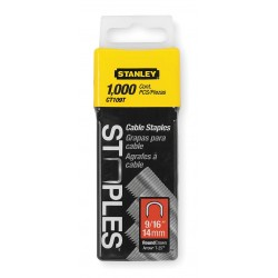 Stanley / Black & Decker - CT109T - Cable/Wire Staple, 5/16x9/16, PK1000