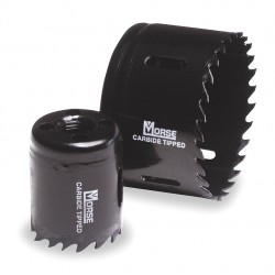 M.K. Morse - AT58 - 3-5/8 Carbide Tipped Holesaw Separate Ar