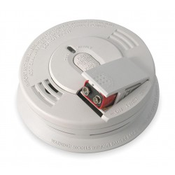 Kidde Fire and Safety - I12060 - 5 Smoke Alarm with 85dB @ 10 ft., Horn Audible Alert; 120VAC, 9V