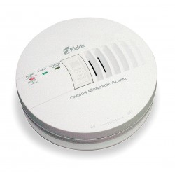 Kidde Fire and Safety - KN-COB-IC - 5-3/4 Carbon Monoxide Alarm with 85dB @ 10 ft., Horn Audible Alert; 120VAC, 9V