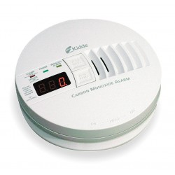 Kidde Fire and Safety - KN-COP-IC - 5-3/4 Carbon Monoxide Alarm with 85dB @ 10 ft., Horn Audible Alert; 120VAC, 9V