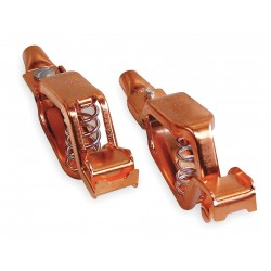 Power First - 1XWP2 - Copper Test and Battery Battery Clip Set with Screw, Crimp Connection,