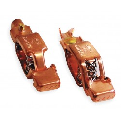 Power First - 1XWP3 - Copper Test and Battery Battery Clip Set with Screw, Crimp Connection,