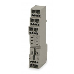 Omron - P2RF-08-S - Relay Socket, Socket Type: Finger Safe, Socket Style: Square, Number of Pins: 8