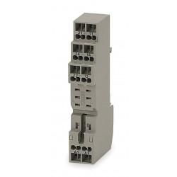 Omron - P2RF-08-S - Relay Socket, Socket Type: Finger Safe, Socket Style: Square, Number of Pins: 8