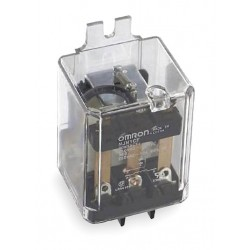 Omron - MJN1CF-AC120 - 120VAC, 5-Pin Flange Mount Relay; Flange Location: Side, AC Contact Rating: 10A @ 240V