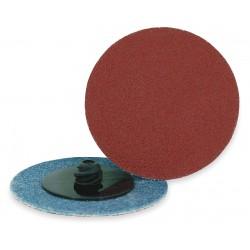 ARC Abrasives - 11-31652 - 2 Quick Change Disc, Aluminum Oxide, TR, 50 Grit, Coarse, Coated, AO/Y, PK25