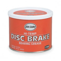 CRC - SL3161 - Gray Aluminum Complex High Temperature Disc Brake Grease, 14 oz., NLGI Grade: 2