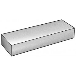Other - 1ZCR8 - Bar Stock, Aluminum, 6061, 3/8 x 8 In, 3 Ft