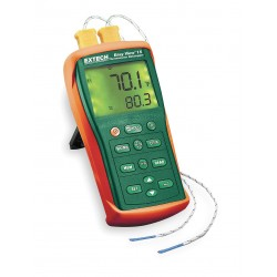 Extech Instruments - EA10-NIST - 2-Input Type K Mini-Type Thermocouple Thermometer