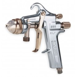 Binks - 6202-1204-4 - 13.0 cfm @ 33 psi HVLP Spray Gun&#x3b; For Use With Mfr. Model No. KB-555, 6Z899 and 2RA53