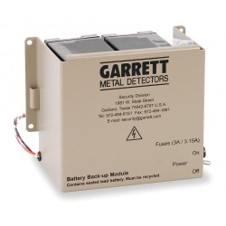 Garrett Metal Detectors - 2225700 - Garrett Metal Detectors 2225700 Battery Backup Module for CS 5000 and MS 3500
