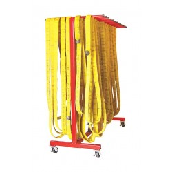 Groves - MHD-80 - Steel Mobile Hose Dryer, 250 ft. Hose Capacity, For Hose Dia. 1-1/2
