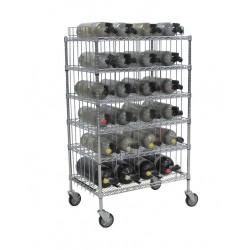 Groves - MBR-24 - Mobile Bottle Cart, Maximum 24 Bottles