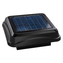 Broan-NuTone - 345CSOBK - Solar Powered Attic Ventilator, Mount