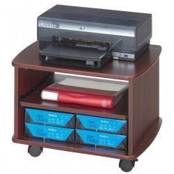 Safco - 1954MH - Printer Stand, Mahogany