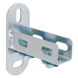 Parker Hannifin - 6699 01 02GR - Steel Transair U-Channel Fixing Bracket, Silver