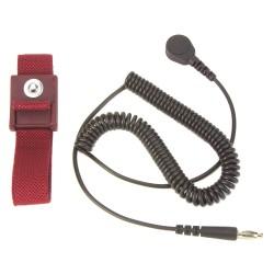 3m - Mws61m - Maroon Wrist Band 1/8/4mm Snap 6 Cord
