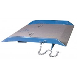 Bluff - 15CR7248 - 48L x 72W Steel Container Ramp; Load Capacity: 15, 000 lb.