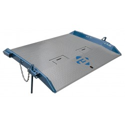Bluff - 15T7284 - 84L x 72W Steel Dock Board; Load Capacity: 15, 000 lb.