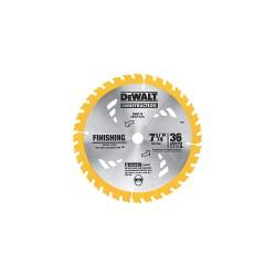 Dewalt - DW3576B10 - 7-1/4 Carbide Combination Circular Saw Blade, Number of Teeth: 36, Package Quantity 10