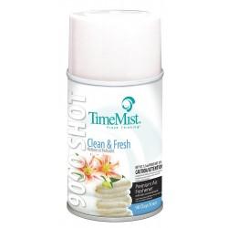 TimeMist - 33-6402TMCA - Clean N'Fresh Metered Air Freshener Refill, 7.5 oz., 4PK