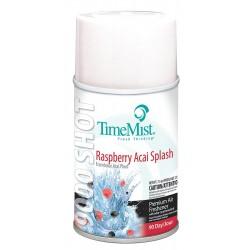 TimeMist - 33-6441TMCA - Raspberry Acai Metered Air Freshener Refill, 7.9 oz., 4PK