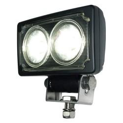K&E Railhead - KE-LTHL-10 - Work Light, Convex, LED, 9/64VDC, 2-3/8 in W