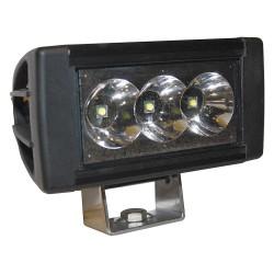 K&E Railhead - KE-HDWL-30 - Work Light, Rect., LED, 9/64VDC, 2-5/8 in. W