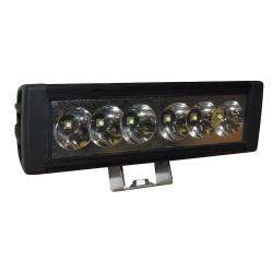 K&E Railhead - KE-HDWL-60 - Work Light, Rect., LED, 9/64VDC, 2-5/8 in. W