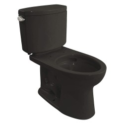 Toto - CST454CEF#51 - Drake II Two Piece Tank Toilet, 1.28 Gallons per Flush, Ebony