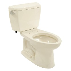 Toto - CST744S#03 - Drake Two Piece Tank Toilet, 1.6 Gallons per Flush, Bone