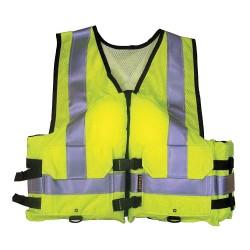 Stearns - 3000001119 - Work Zone Life Vest, Flotation Foam, L